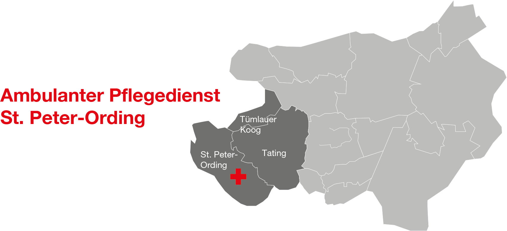 Sankt Peter Ording Karte.Drk Pflegedienst Sozialstation St Peter Ording Drk Kv